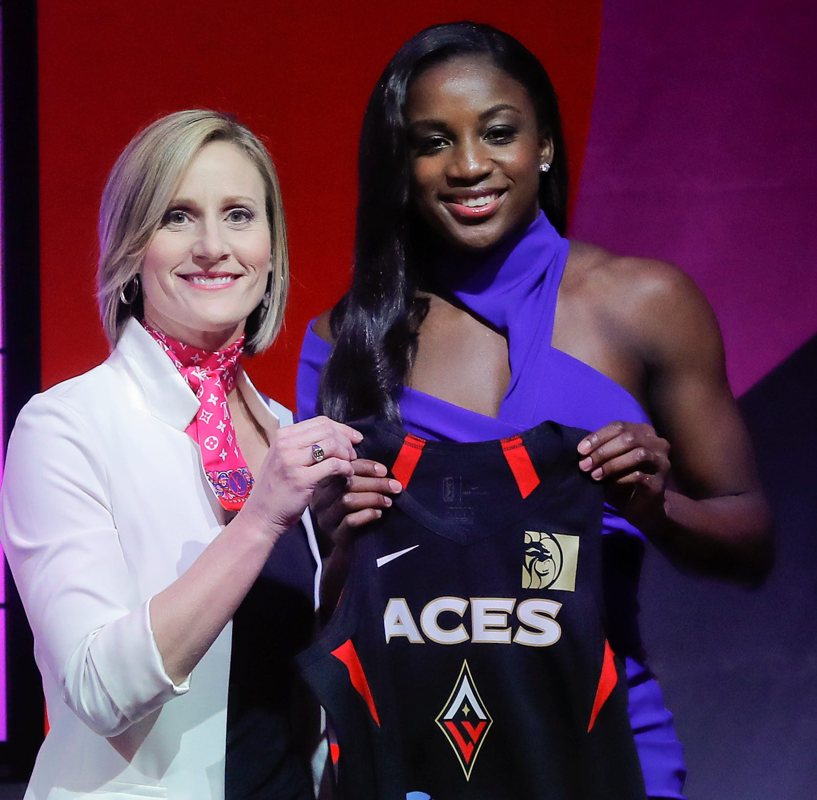 No. 1 pick, former IndyStar Miss Basketball Jackie Young ready to begin her WNBA career in Las Vegas