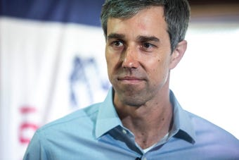Watch what Beto O'Rourke had to say about the 'horse race' of the campaign trail ahead of Iowa caucuses, May 21, 2019.