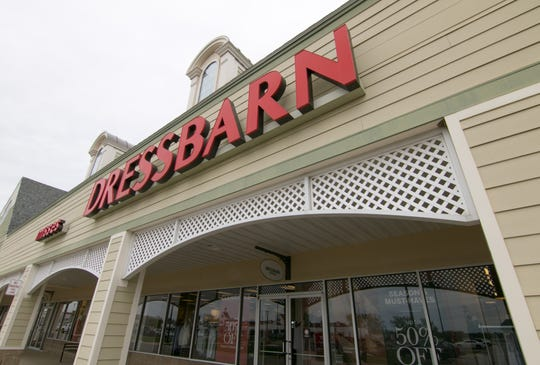 The Dressbarn store in the Tanger Outlets shopping center in Howell Township, Mich., will close later in the year.