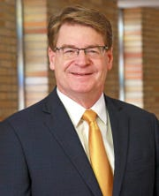 James Dover is the new CEO and President of Sparrow Health System.