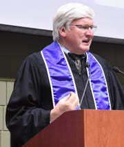 Rep. Glenn Grothman from Wisconsin's 6th Congressional District delivered the spring commencement address at LTC May 18.