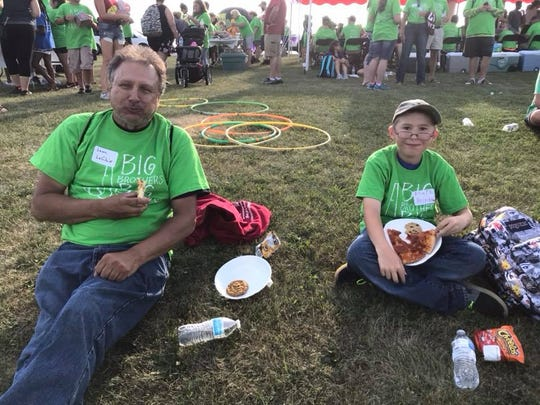 Big Brothers Big Sisters of Manitowoc County has named Big Brother Leon LeClair and Little Brother Mark as its match of the month for May.