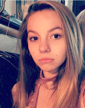 Authorities are seeking Allison Sowders, 15, who has been missing since Friday.