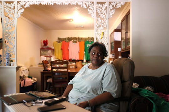 Betty Cox has lived directly next door to Dorothy Jackson for more than 50 years. The pair met and became friends as teenagers. Jackson was killed inside her home on Saturday night when dozens of bullets were fired into the house on Norfolk Street in South Memphis.