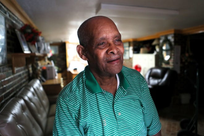 James Taylor, 82, has lived in his home on Norfolk Street in South Memphis since 1964. As head of the neighborhood watch, Taylor says the group has dwindled as the overall age of the neighborhood's residents has risen, leaving a less active group.