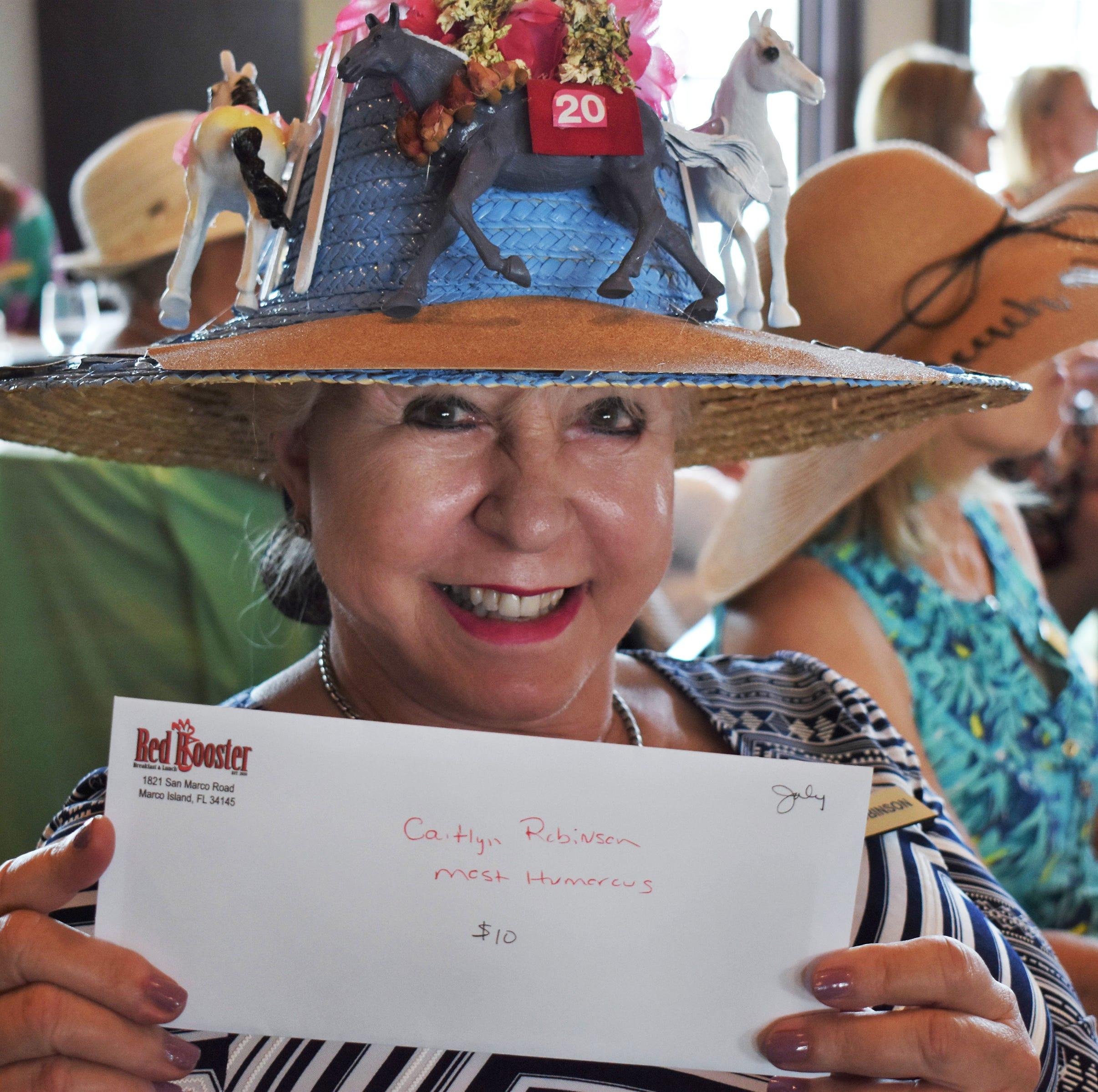 Social Scene: Newcomers May luncheon – it's Derby time!