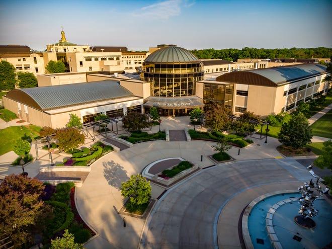 Aerial photo of Alverno College