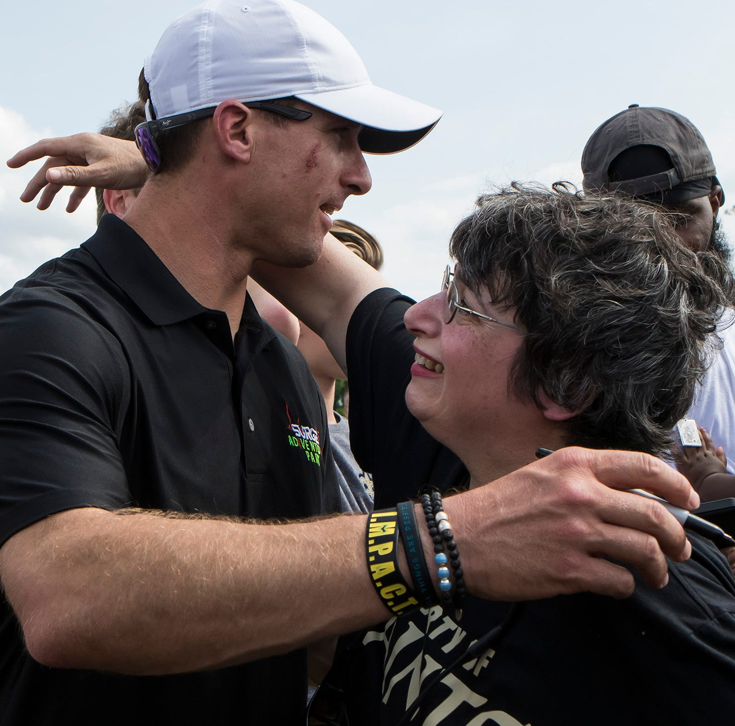 North Louisiana's Who Dats welcome Brees to West Monroe