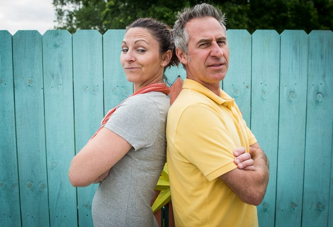 Audra Koontz and her husband Benji are running against each other for Gaston's town council in district 2. The two have said the plan to run against each other was to spur interest in the election and help move Gaston in a more positive direction.