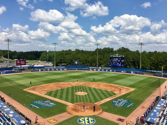 The 2019 SEC Baseball Tournament is being held this week in Hoover, Ala., its home since 1998.