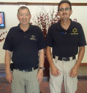 Bob Jackson, left, and Tim Cunningham are two Dickson County constables.
