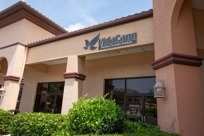VidaCann,  a medical marijuana dispensary in Bonita Springs.