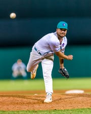 Estero graduate Joey Mugavero thrived out of the Florida SouthWestern bullpen this season, going 2-0 with a 1.99 earned run average in 18 appearances. Mugavero signed last week with Division I Florida Atlantic University.