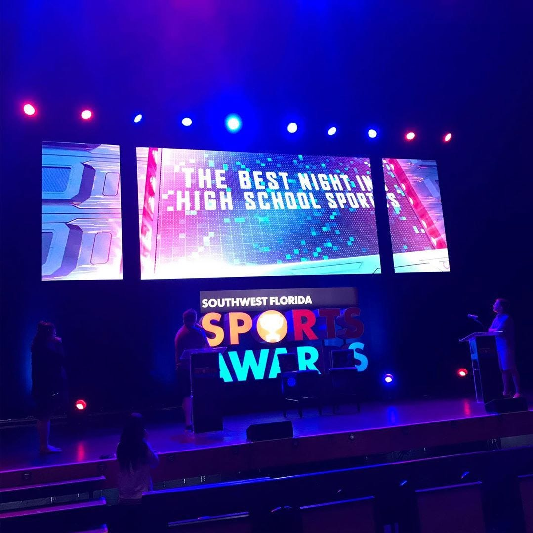 Community's Weiss, First Baptist's Melancon honored at Southwest Florida Sports Awards