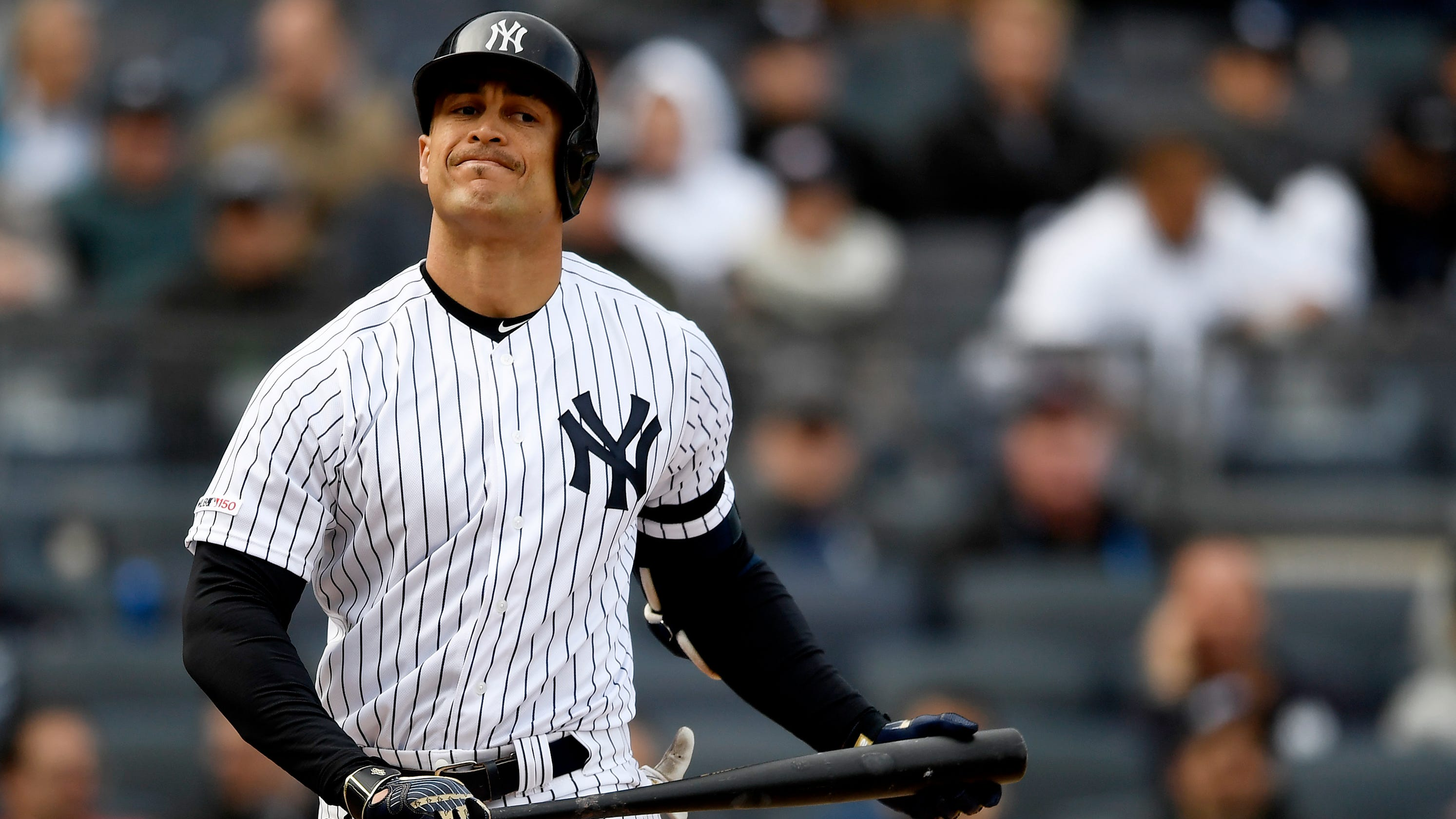 separation shoes a9b4f 47c8b Giancarlo Stanton not in Yankees' rehab start; Aaron Judge ...