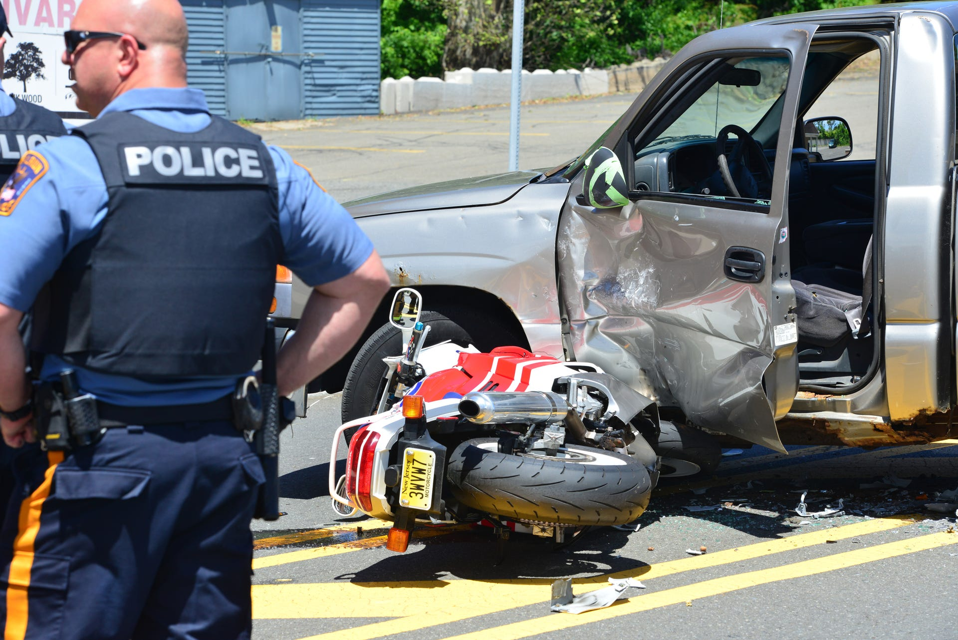 Serious Motorcycle Accident In Fair Lawn