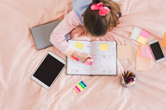 Creating checklists with your child, and encouraging them to use the checklists themselves, is also helpful. Using time limits and planners are also effective ways to build their executive function skills, she added.