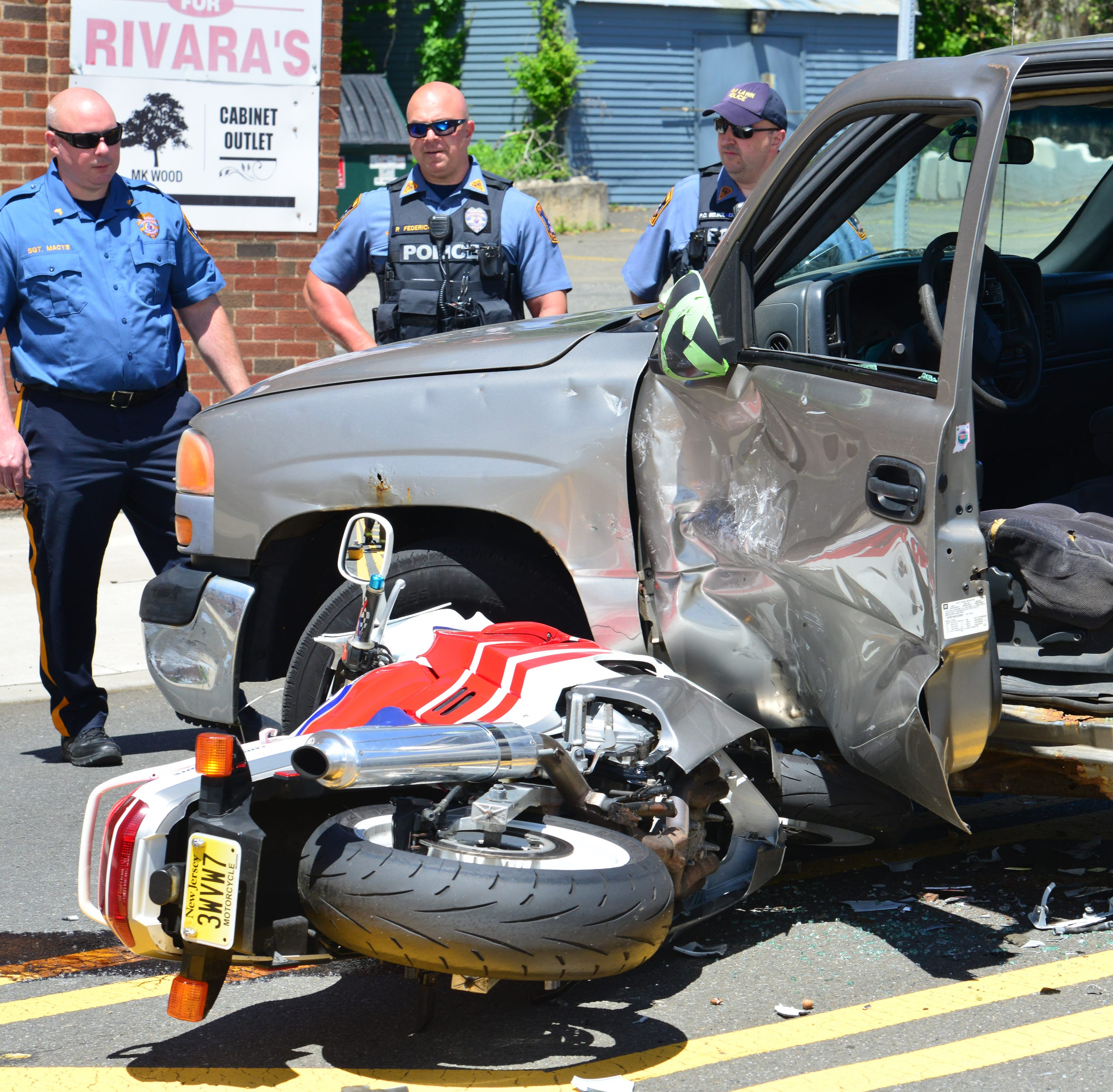 Franklin Lakes man injured in motorcycle crash in Fair Lawn
