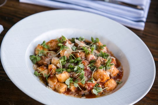 Ricotta gnocchi at Fascino and Batello