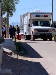 The Doña Ana County Sheriff's Department is investigating what officials believe to be a double homicide on Tuesday, May 21, 2019, in the 5300 Block of Cristo Rey in the village of Doña Ana.