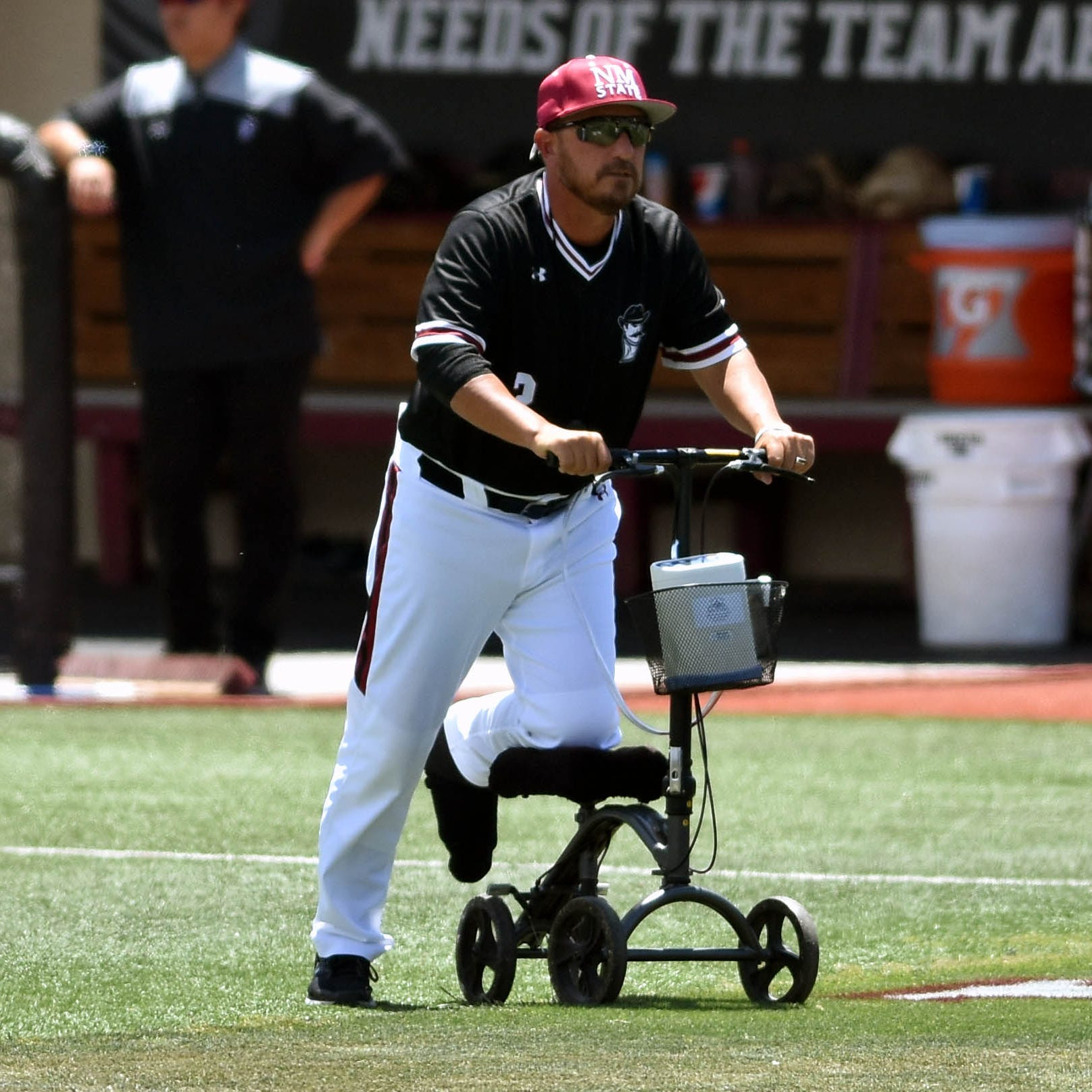 Brian Green manages pain, Aggies while leading New Mexico State baseball to WAC No. 1 seed