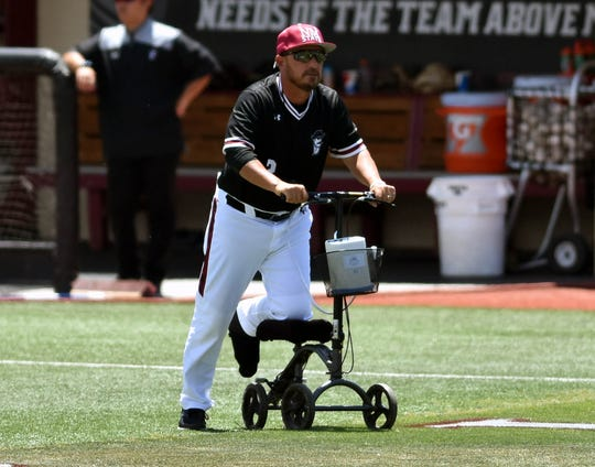 New Mexico State baseball coach Brian Green and the Aggies look for their second straight WAC Tournament championship this week in Mesa, Arizona.