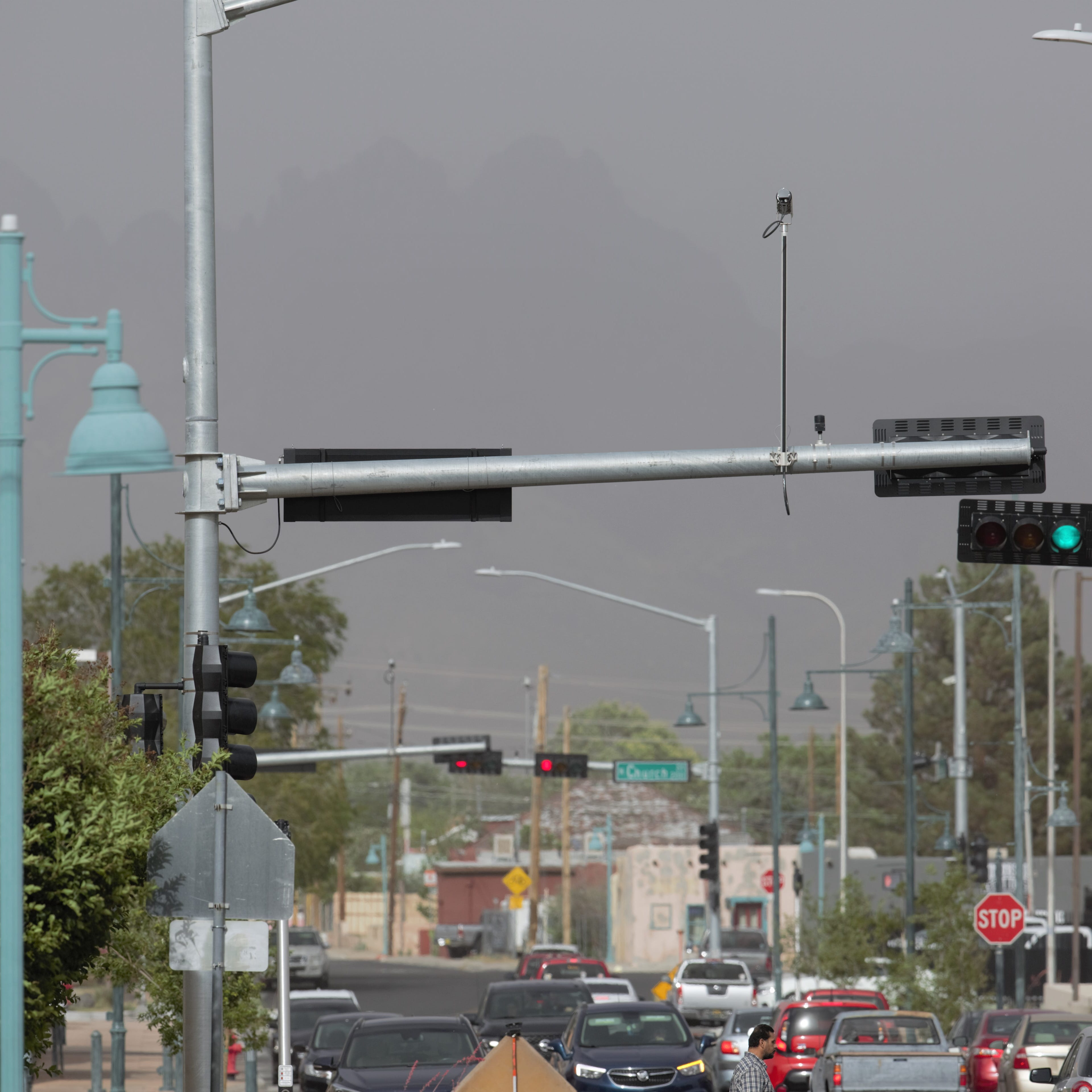 Wind whips up dust in Las Cruces; more on the way Tuesday
