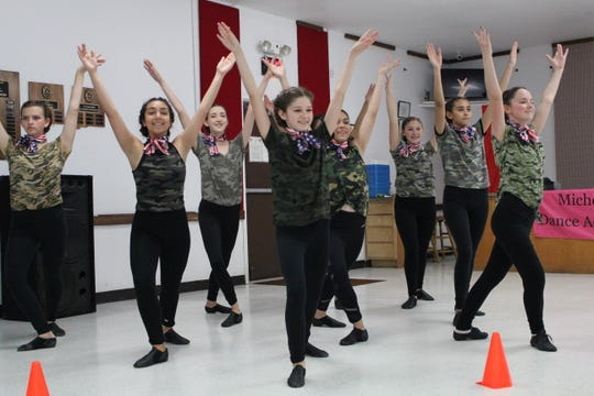 Members of the Las Cruces Chamber Ballet recently performed a salute to our military servicemen at American Legion Post #10 during their 100th anniversary celebration.