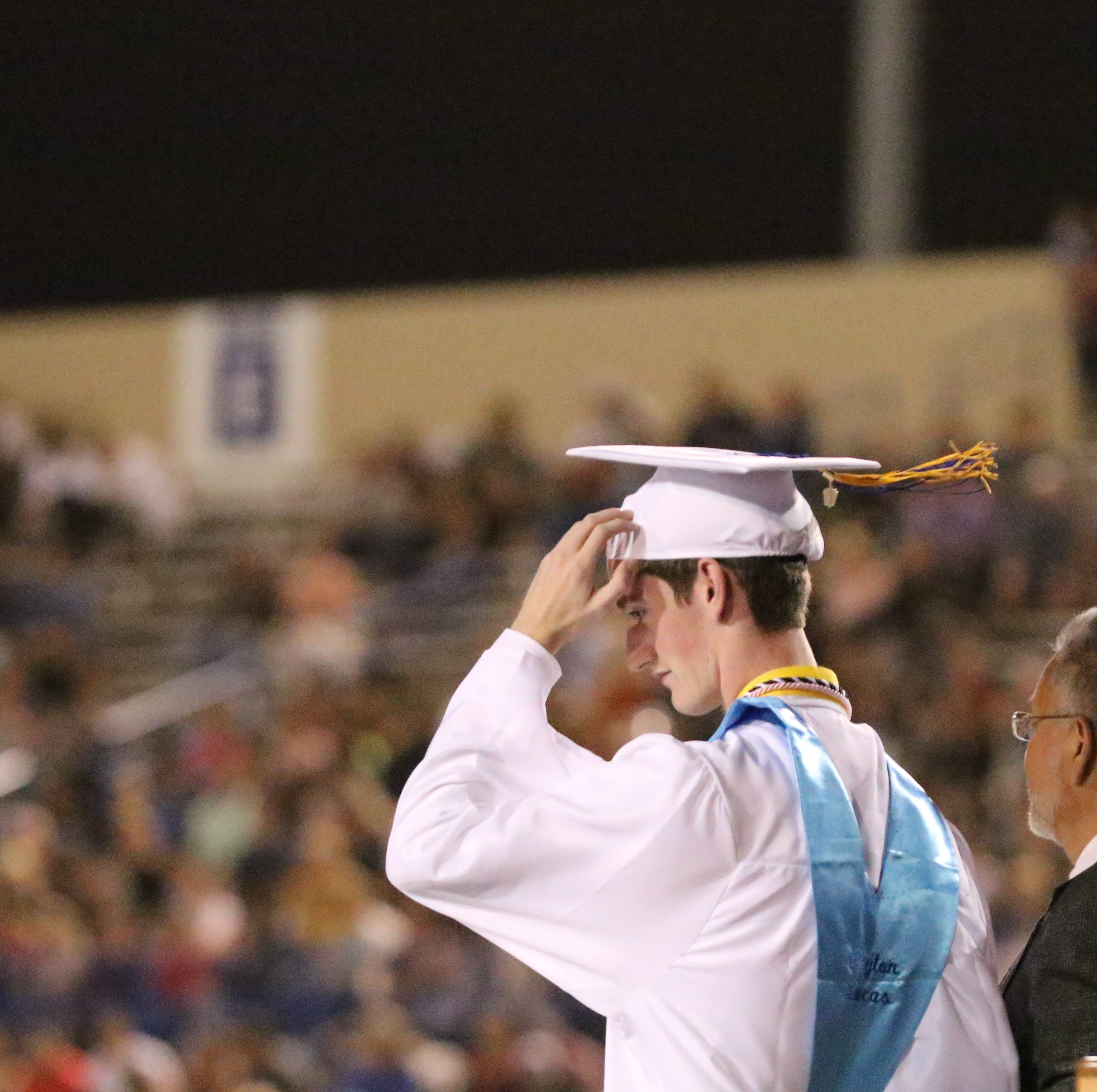 CHS commencement: Hold on to your hats Carlsbad grads