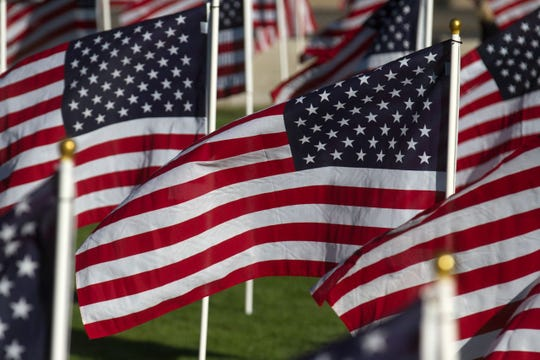 "The ""Flags of Remembrance: Healing Field"" flag display returns this weekend to the Farmington Boys & Girls Clubs."