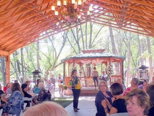 Last year's tea and fashion show was a big hit at Sanctuary on the River.