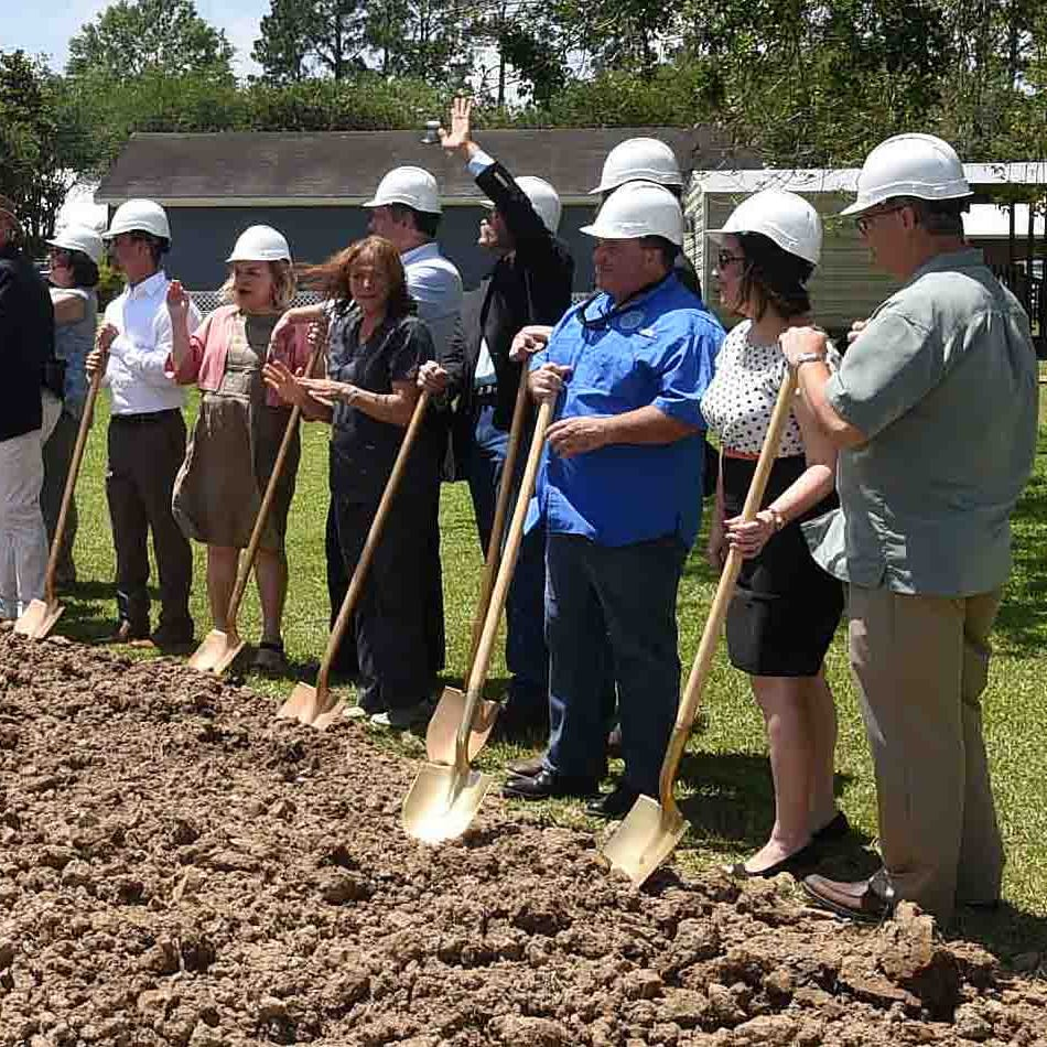 A momentous event: WCA breaks ground on new chapel on Opelousas campus