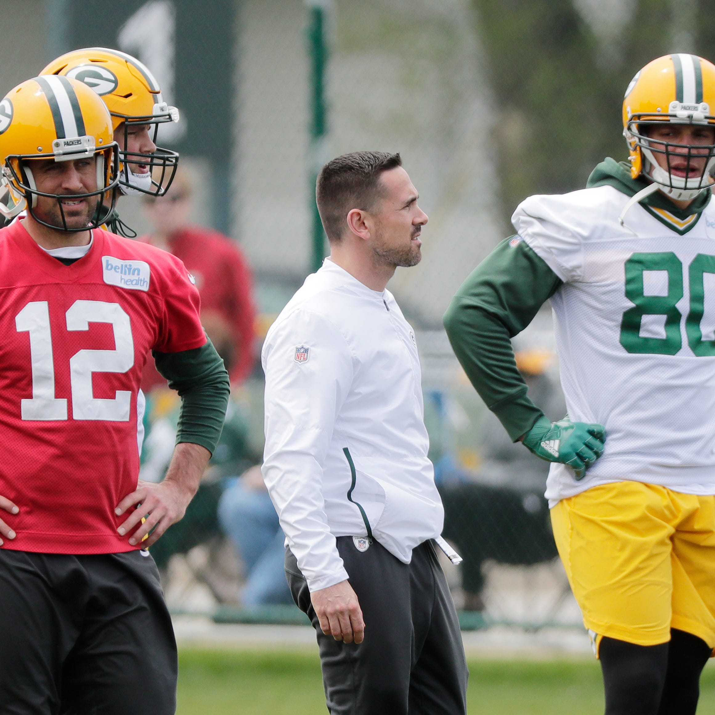 Packers notes: Learning new offense 'a work in progress' for Aaron Rodgers