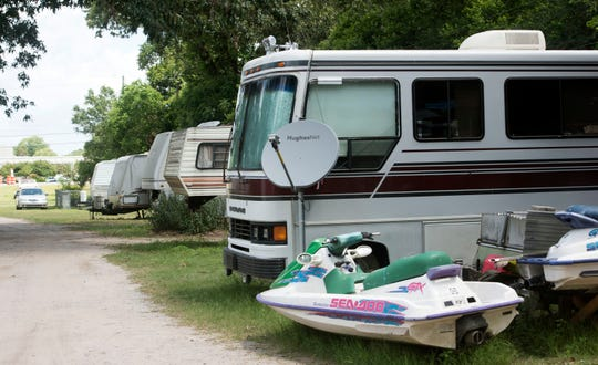 Flamingo Park residents were told they had 30 days to vacate the mobile home park in mid-May, but under the Florida Moblie Home Act she the other residents may be given more time to find new homes.