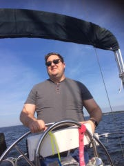 In his spare time you might find reporter Jim Little on the water navigating a sail boat.