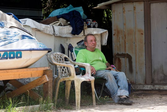 Flamingo Park resident Willard Brigman says he is worried about finding a new place to live. Willard and the other residents of the Nine Mile Road mobile home park were given 30 days to vacate the park, though legal experts say they may be owed more time.