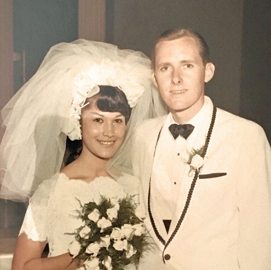 I'm white. My wife is Mexican American. That almost ruined our wedding