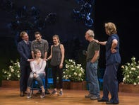 "Arizona Theatre Company's ""Things I Know to Be True"" stars (clockwise from lower left) Aubyn Heglie, Zach Fifer, Kevin Kantor, Kelley Faulkner, Bill Geisslinger and Jordan Baker."