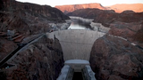 Brenda Burman, Bureau of Reclamation commissioner, talks about the Colorado River Drought Contingency Plan, May 20, 2019, at Hoover Dam.