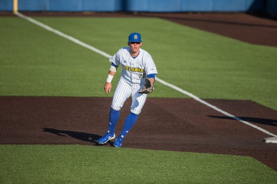 Joseph Carpenter started all 54 games at first base during his freshman baseball season at Delaware.