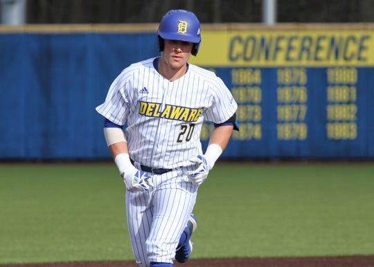 Joseph Carpenter had a big freshman baseball season at Delaware that was highlighted by a 24-game hitting streak.