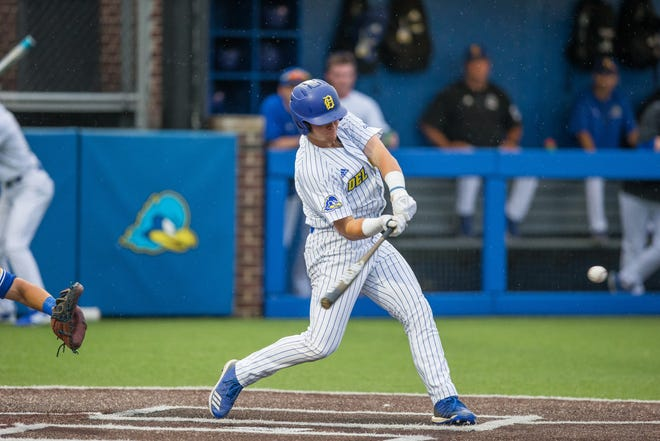 After a slow start, Cedar Crest grad Joseph Carpenter led the Delaware baseball team in hitting and was named Colonial Athletic Association Rookie of the Year in 2019. He's now considered a legitimate MLB draft prospect in 2021.