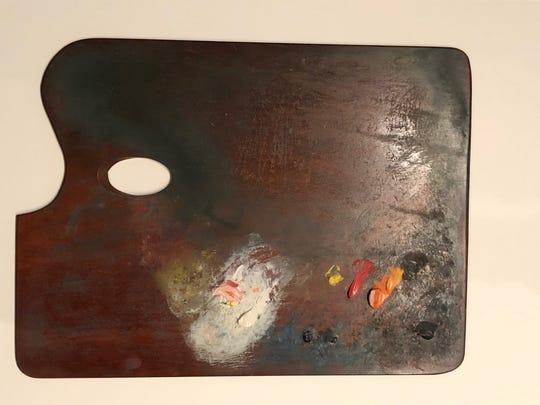 George Ault (1891-1948), palette