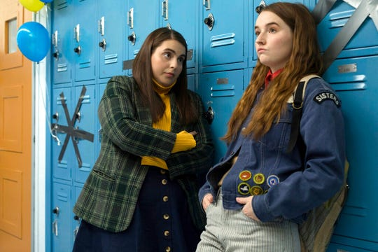 "Beanie Feldstein, left, and Kaitlyn Dever star in ""Booksmart,"" directed by Olivia Wilde. The movie is playing at Regal West Manchester."