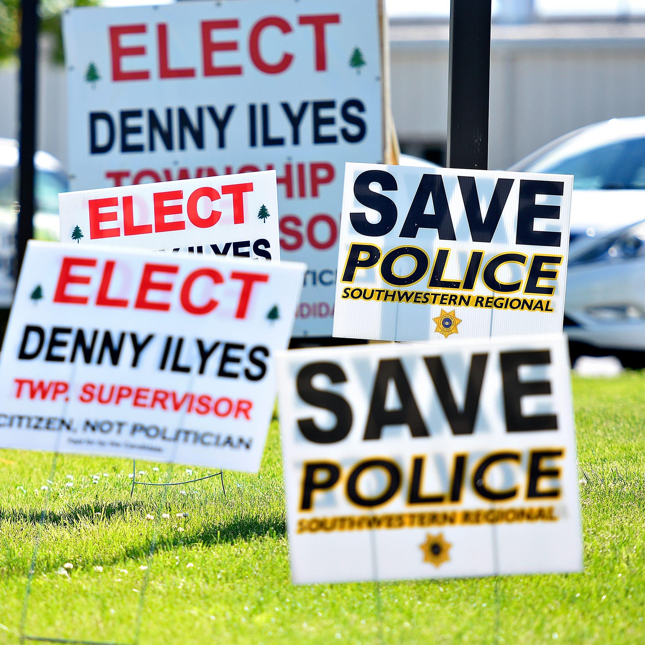Primary Election Day at Genesis Church, Ward 1, in North Codorus Township, Tuesday, May 21, 2019. Dawn J. Sagert photo
