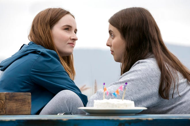 """Kaitlyn Dever, left, and Beanie Feldstein star in """"Booksmart,"""" directed by Olivia Wilde. The movie is playing at Regal West Manchester."""