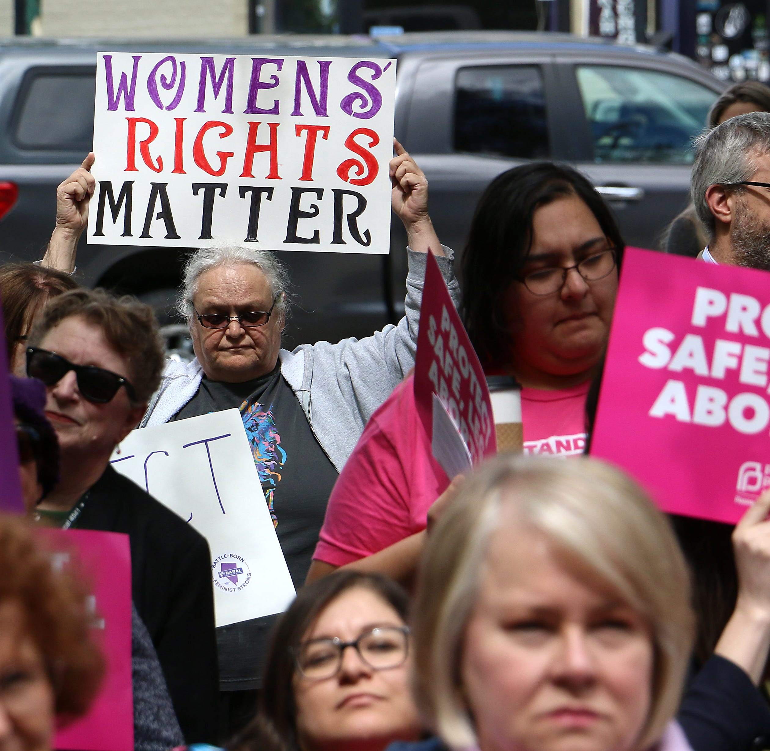 Nevada advances abortion decriminalization bill amid protests over Alabama's abortion ban