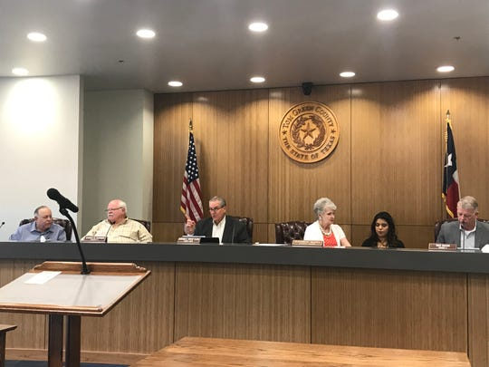 The Tom Green County Commissioners Court meets  at 8:30 a.m. every Tuesday on the second floor of the Keyes Building at 113 W. Beauregard Ave. in San Angelo.