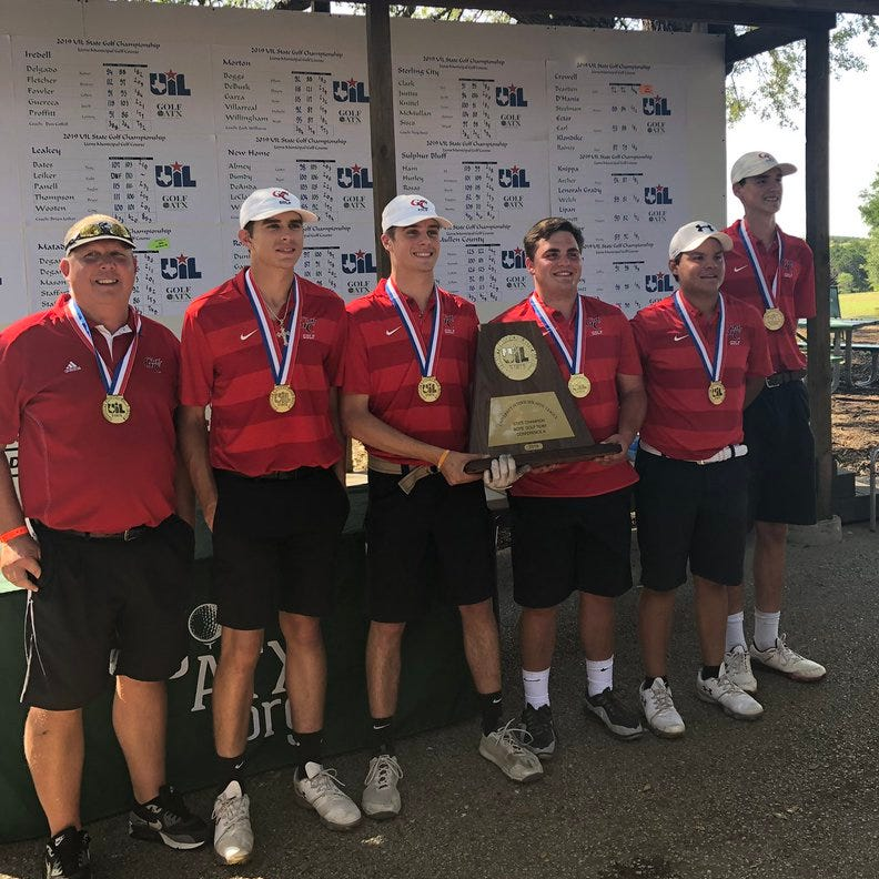 UIL STATE GOLF: Garden City boys repeat as 1A team champs