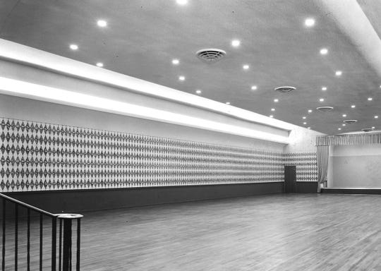 The Ritz Theater was sold to the Town House Hotel in 1955 and became the Cotillion Ballroom.